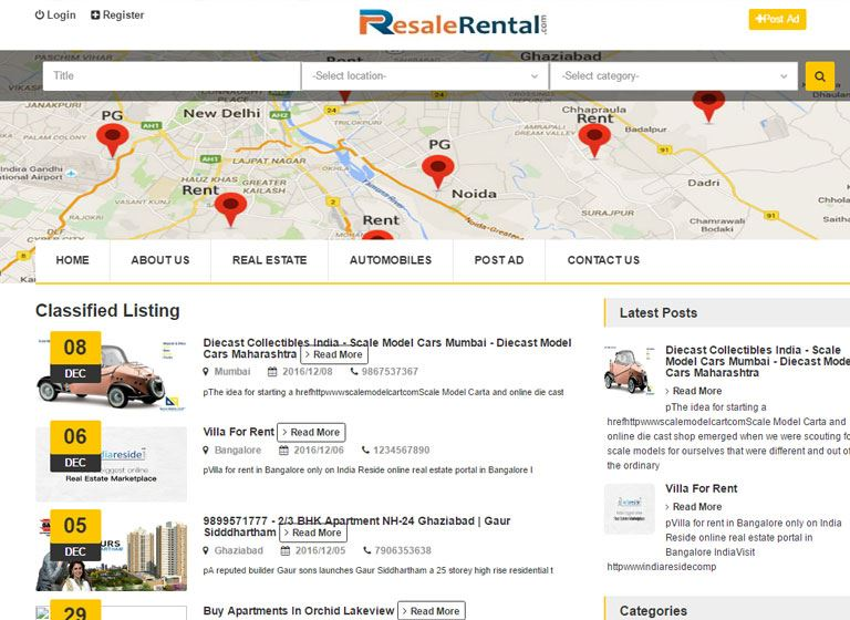 RESALE RENTAL